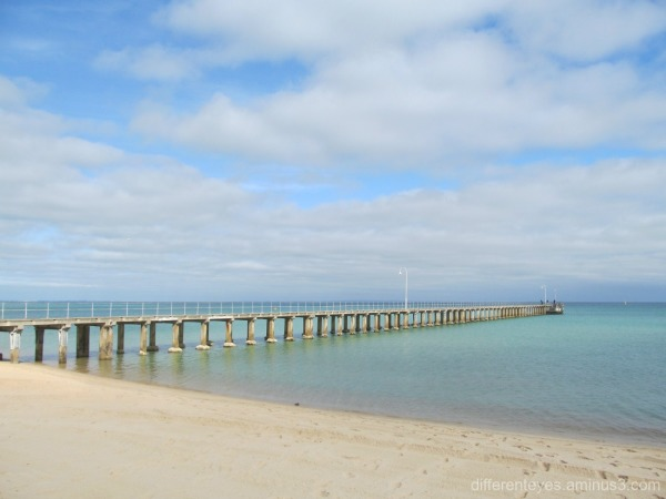 a view of dromana pier and beach...