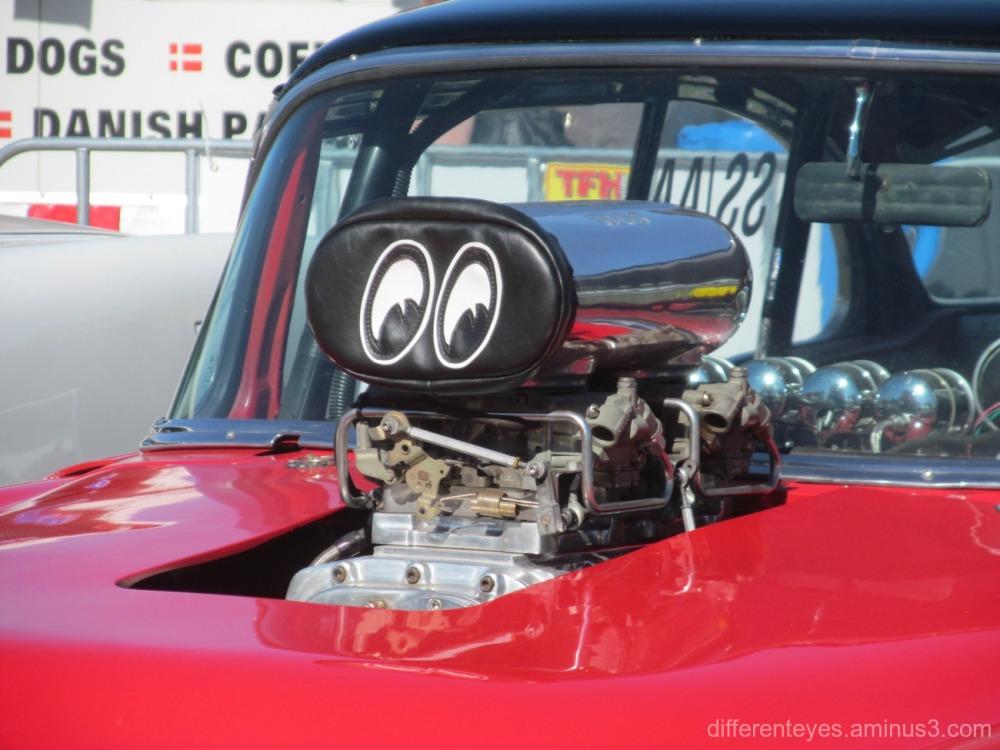 macro - car at 2016 Westernport Festival, Hastings