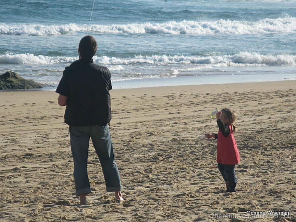 wintry Gunnamatta beach
