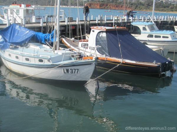 boats at Mornington