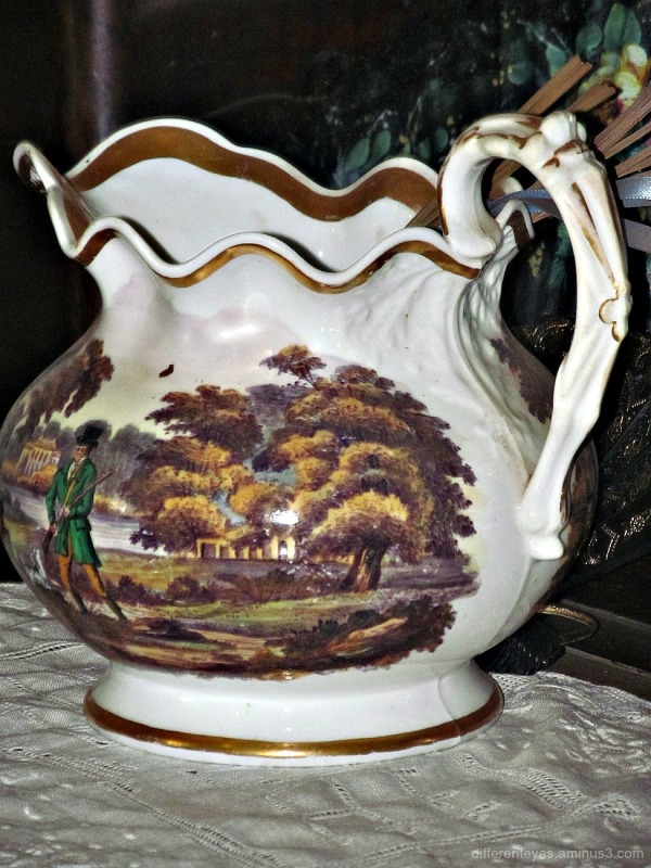19th C jug at Churchill Island's Amess House