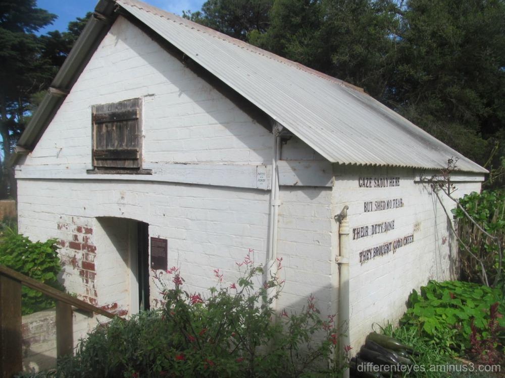 19th C wine cellar -Churchill Island's Amess House