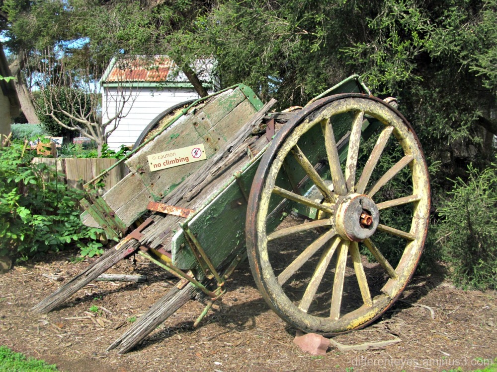 Churchill Island Heritage Farm cart