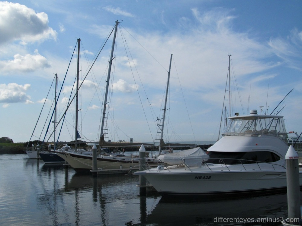 Queenscliff Harbour boats