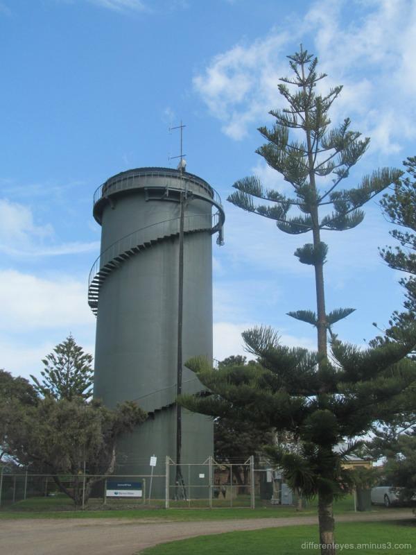 water tower at Queenscliff