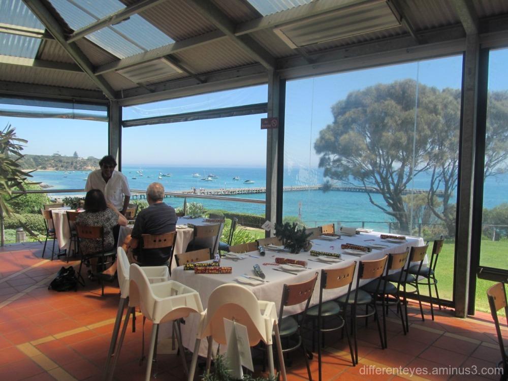 view from Portsea Hotel, Portsea