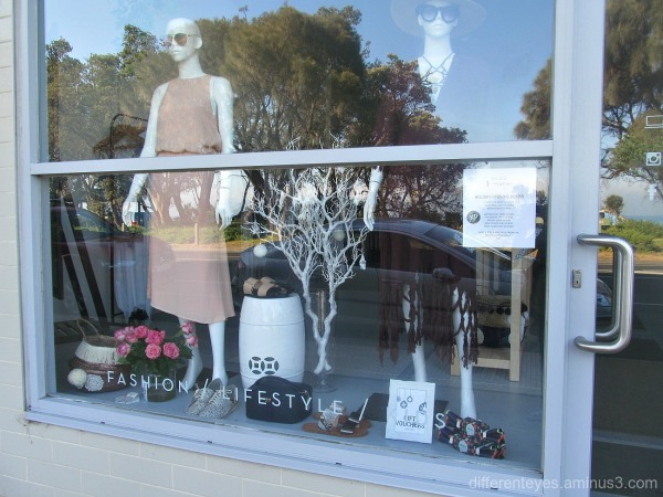 Dromana shop window reflections