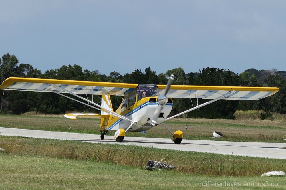 plane at Mornington Peninsula Airport at Tyabb