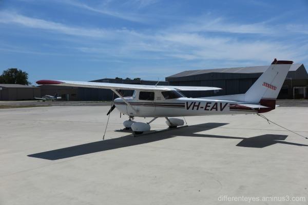 plane at Mornington Peninsula Airport at Tyabb