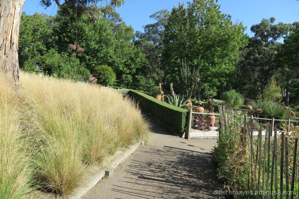 Enchanted Adventure Garden, Arthurs Seat in autumn