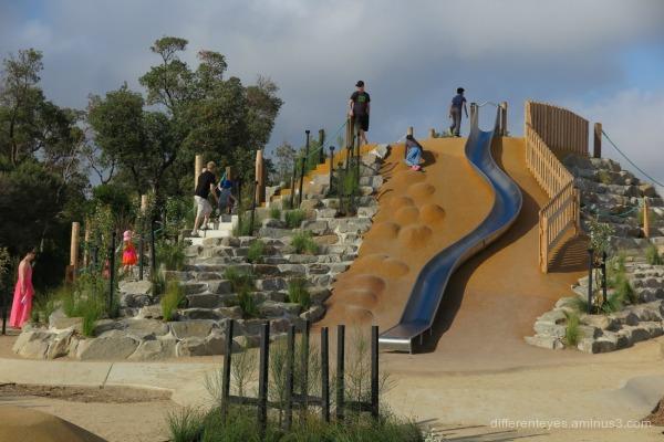 Rosebud foreshore's new plaground