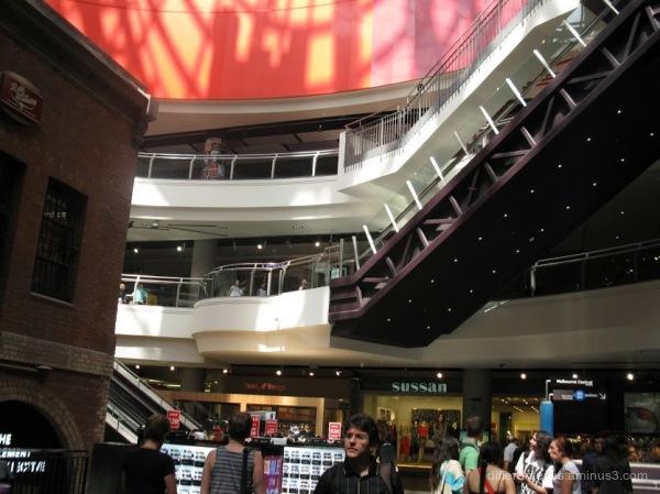 Melbourne Central shops