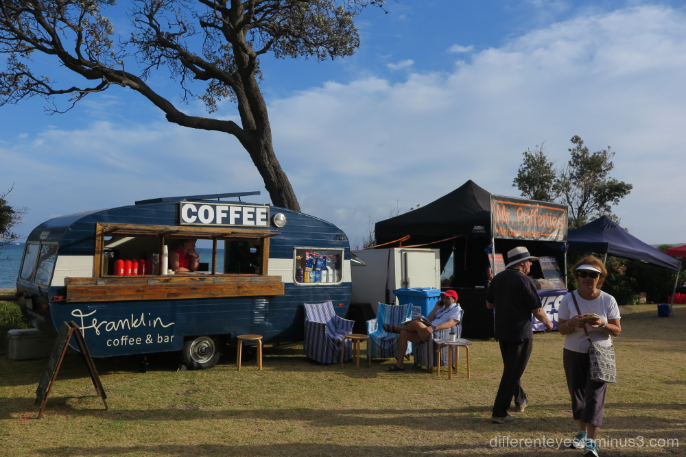Coffee stand at the Dromana Australia Day 2019