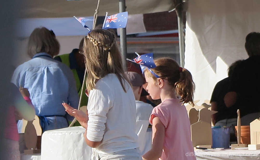 Children at the 2019 Australia Day, Dromana