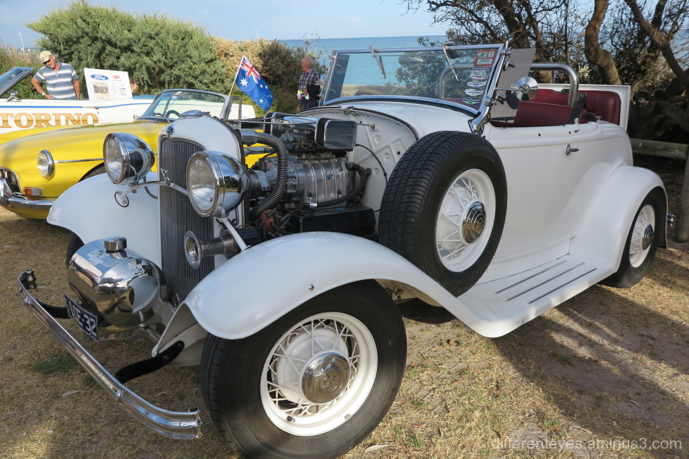 Car at the 2019 Australia Day on Dromana foreshore