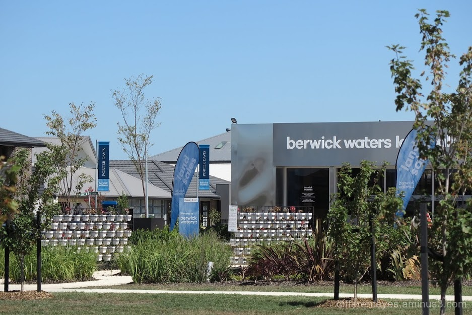 Berwick Waters in the City of Casey