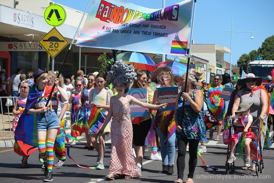 Rainbow Connection in Westernport Festival parade