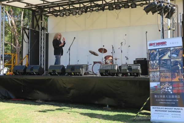 Stage at Westernport Festival