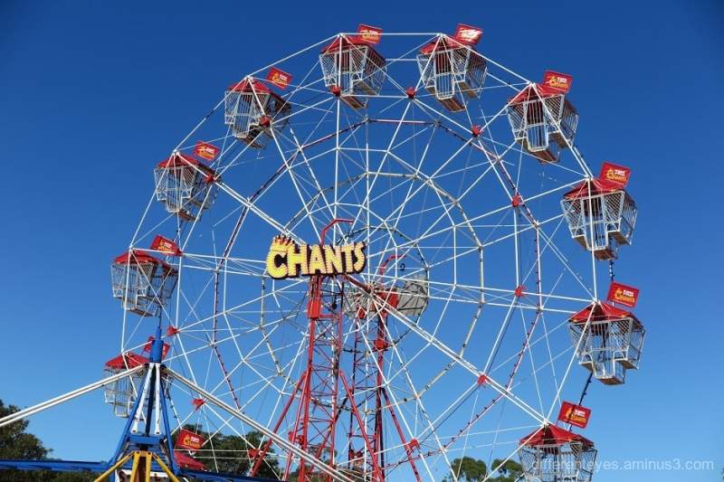 Ferris wheel at Westernport Festival
