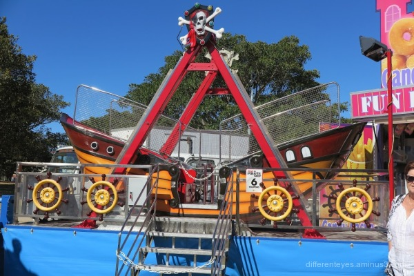 Pirate ship at Westernport Festival