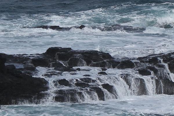 churning waters at Flinders Back Beach