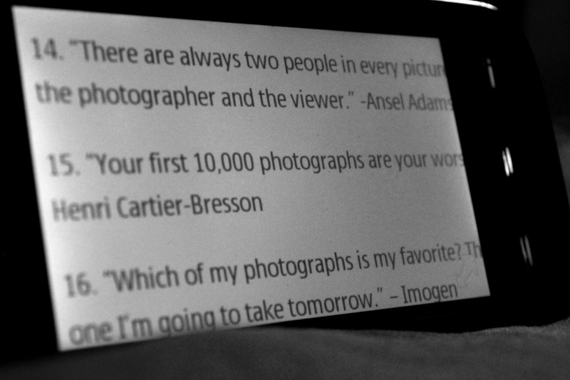 Quotes to inspire the photographer in you