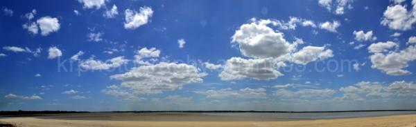 The vast skies