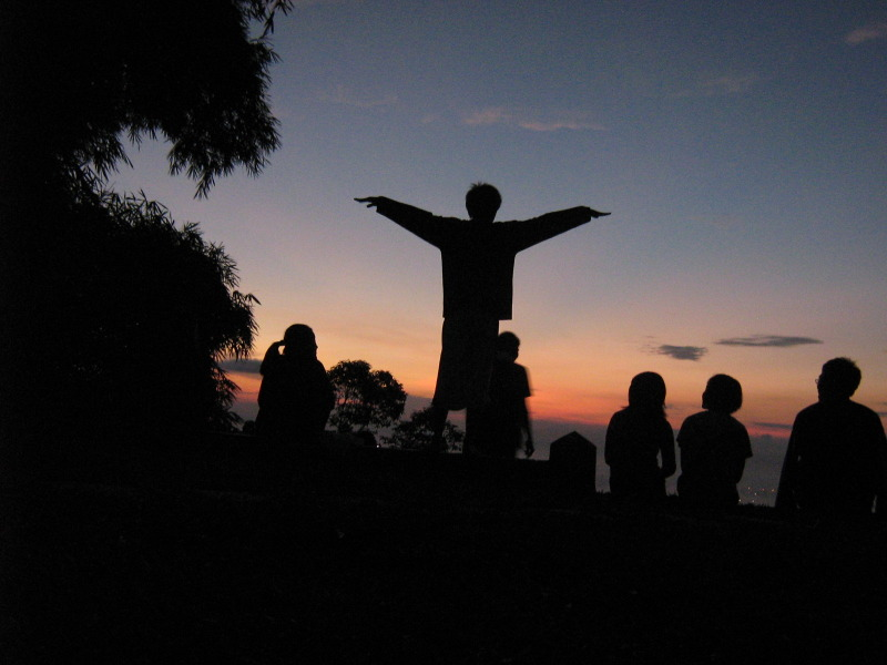 Sunrise on Penang Hill