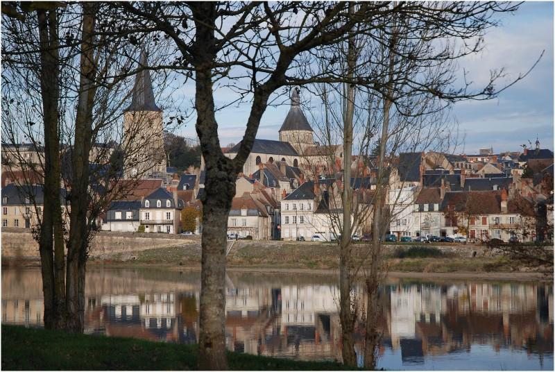 vue générale depuis la Loire