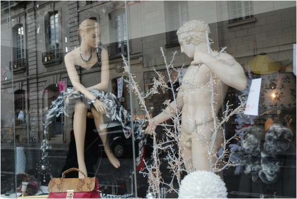reflets de vitrine