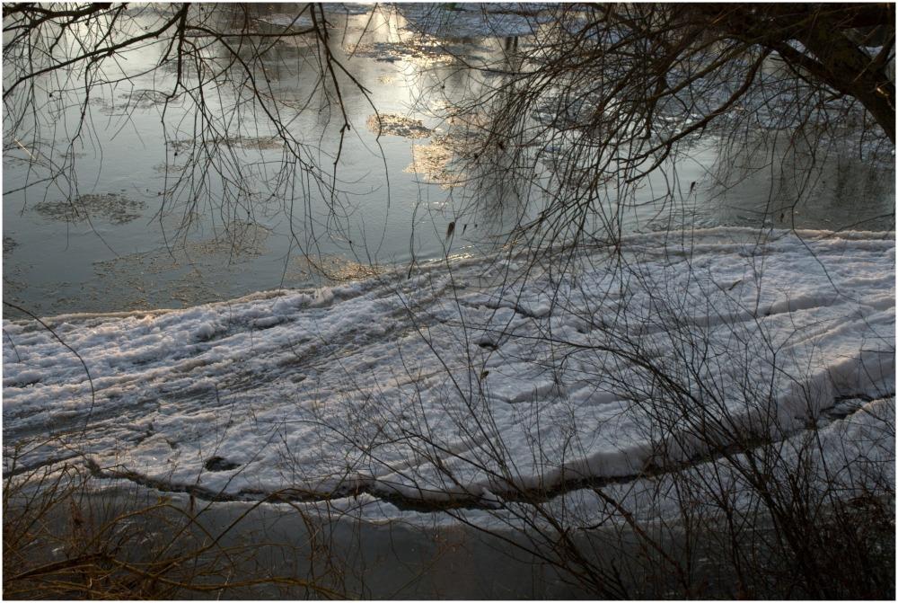 la Loire gelée