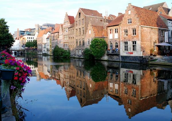 Maisons anciennes sur le Canal