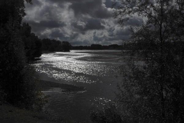 Contre-jour sur la Loire