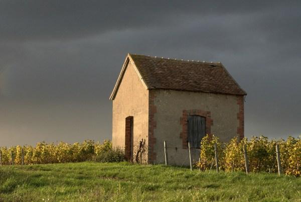 Cabane sous l'orage