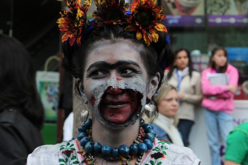 el zombie de Frida Kahlo