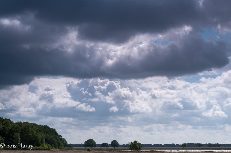 dwingeloo heide davidsplassen wolken clouds