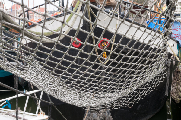 boot boeg net haven boat bow just port