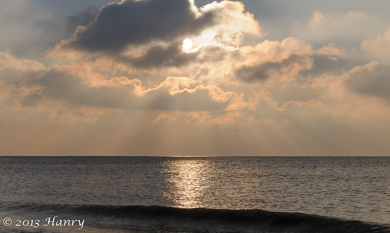 zon wolken zee sun cloud sea