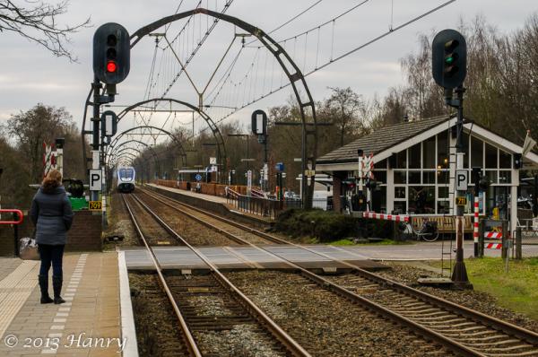 spoorlijn gotische_bogen hollandse_rading station