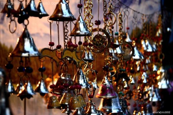 bells in a shop
