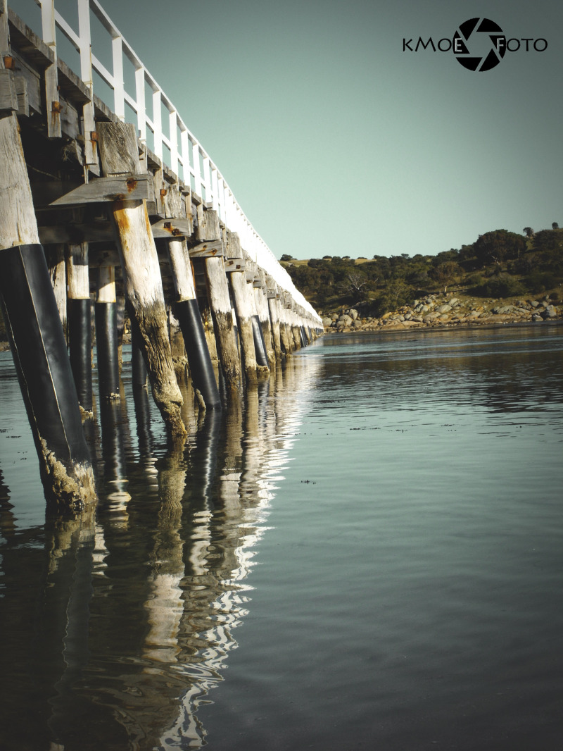 horse tram  bridge Victor Harbour, South Australia