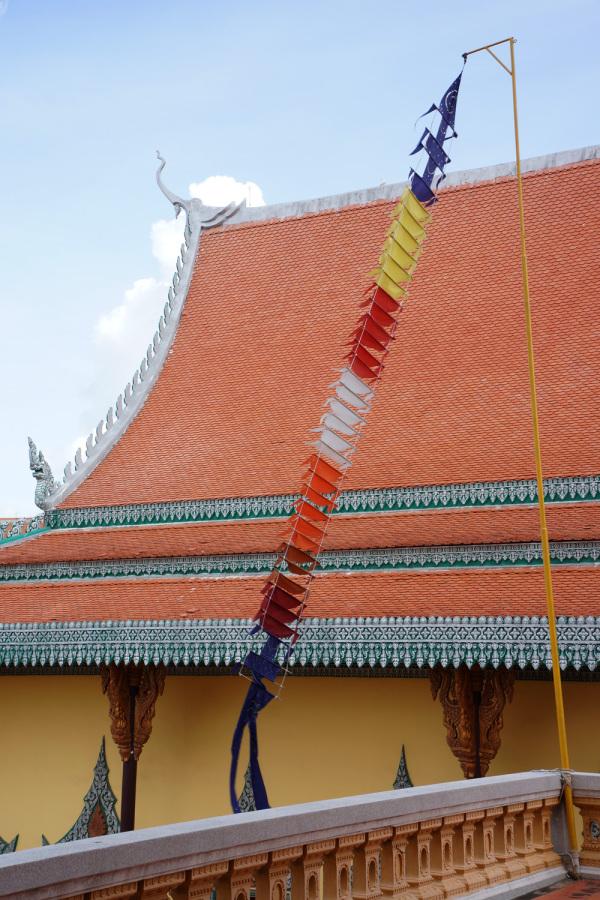 Prayer Flags, Phnom Penh