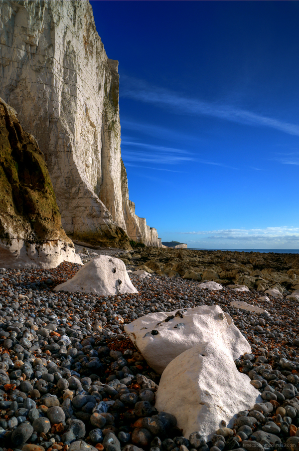 Chalk Beach Beneath The Seven Sisters