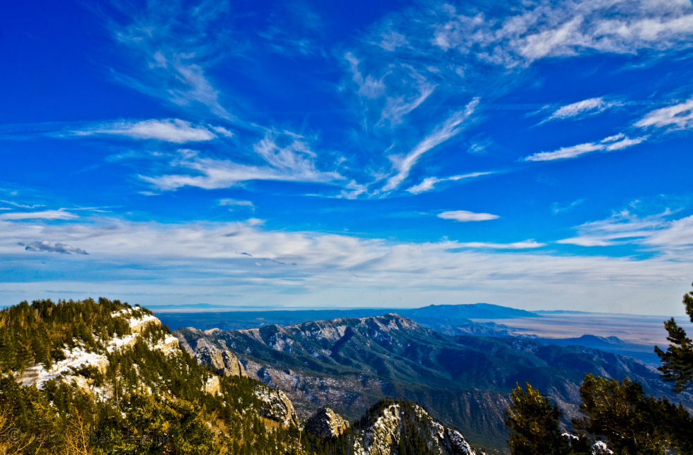 View from Sandia Crest