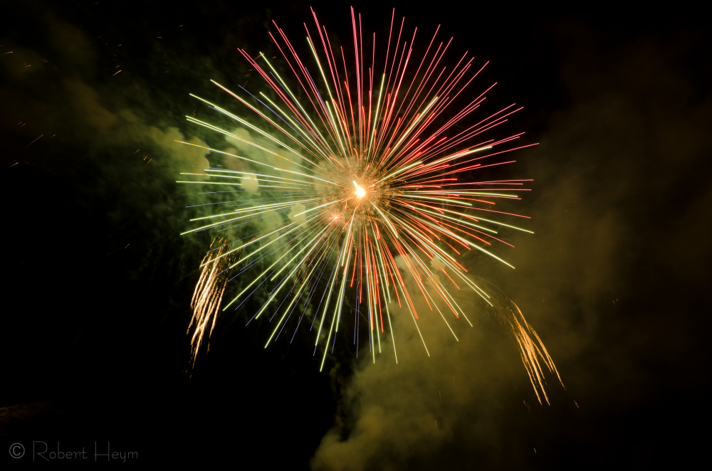 Fireworks at Spirit of America Festival