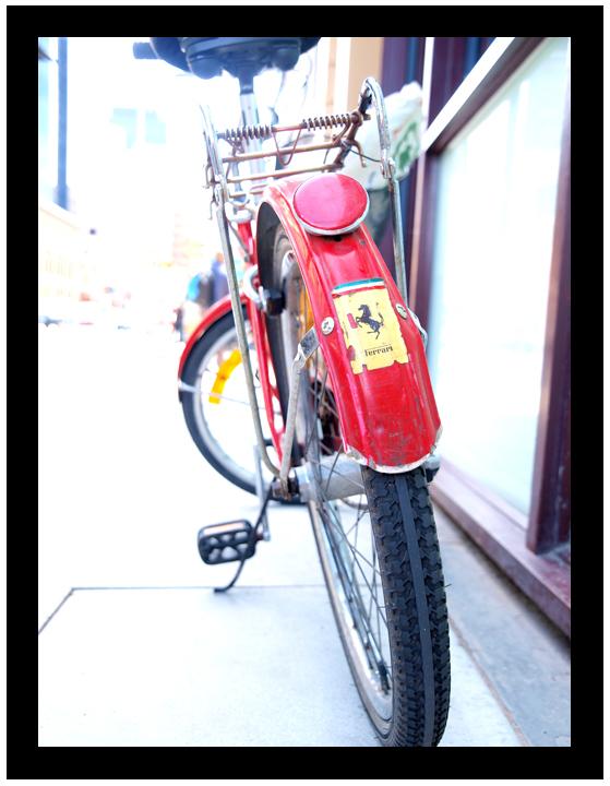 A Ferrari biciclore