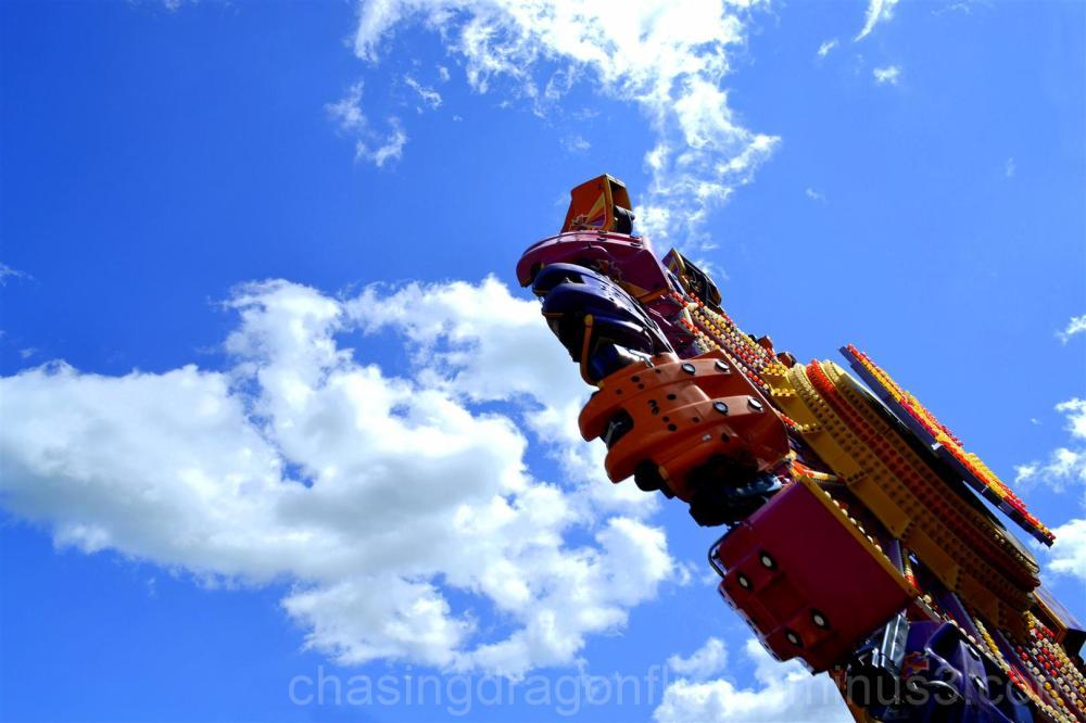 Chaos ride at Calaway Park, Calgary
