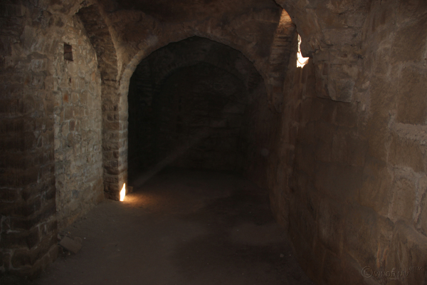 Natural Light Entering the Jail in Golconda Fort