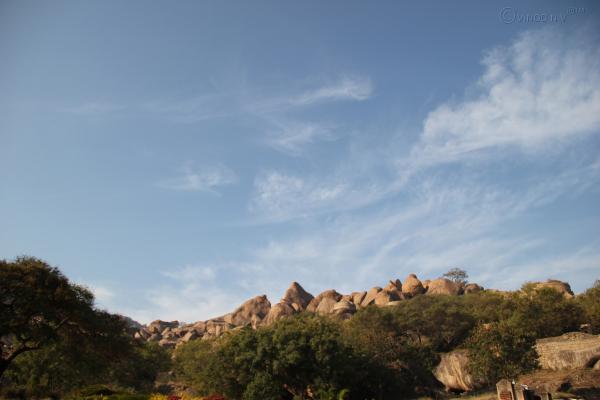 The Rock Fort at Chitradurga