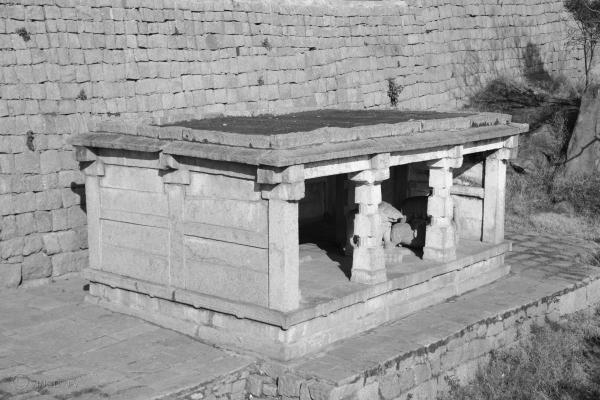 The Mantapa at the entrance of Chitradurga Fort
